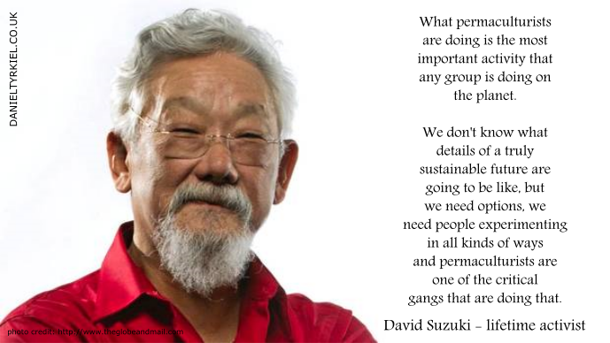 david suzuki permacuture endorsement